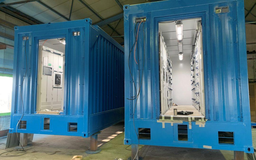 Offshore Container – Einbau Schaltschränke